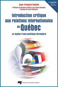 Introduction critique aux relations internationales du Quebec 2e